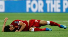 Cum a fost surprins Ronaldo când Salah s-a rupt şi a trebuit schimbat! FOTO