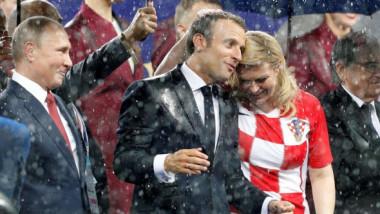 """""""Răspunsul preşedintei Croaţiei pentru lumea întreagă"""". Ce s-a întâmplat după finala Cupei Mondiale"""