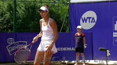 VIDEO Prima ieșire nervoasă a Mihaelei Buzărnescu la turneul de la București