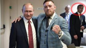 McGregor l-a luat pe după umăr pe Putin. Ce a făcut imediat garda de corp a preşedintelui