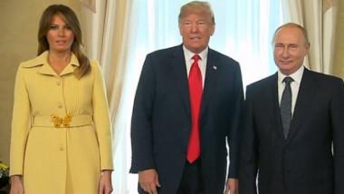 """""""A privit diavolul în ochi!"""". Melania Trump, îngrozită de întâlnirea cu Putin"""