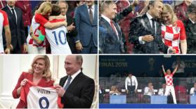 De la xenofobie la sexism. Cine e Kolinda Kitarovic, cel mai popular fan al Croației la CM