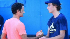 """""""Dacă aș fi știut, n-aș mai fi spus asta!"""" A aflat că îl va întâlni pe Federer și a făcut gluma zilei"""