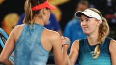 Tensiuni între Sharapova și Wozniacki. Ce a putut să dezvăluie daneza