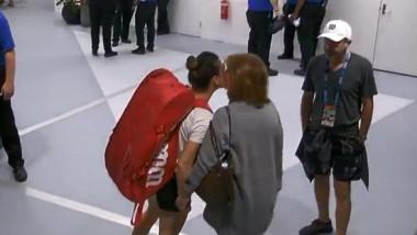 Super imagini surprinse la vestiare înaintea marelui meci Simona Halep - Venus Williams