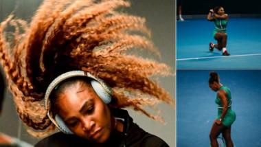 Serena a explicat gafa care a făcut înconjurul lumii în timpul meciului cu Halep