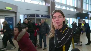 Simona Halep, grăbită la revenirea în țară. Ce a spus fostul lider mondial