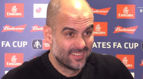 """""""A fumat cineva aici?"""". Eveniment neprevăzut la conferința de presă a lui Guardiola"""