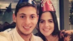 """Gestul emoționant făcut de iubita lui Emiliano Sala, după moartea fotbalistului: """"Pentru totdeauna, Emi!"""""""