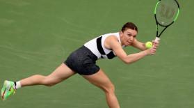"""""""Tenis pur și simplu ireal al Simonei Halep!"""" Reacția WTA, în timpul meciului cu Bouchard"""