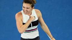 """""""Ce raliu! Ce punct!"""" Momentul în care Simona Halep i-a făcut pe cei de la WTA să exulte"""
