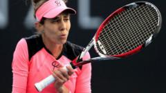 """Problemă surprinzătoare pentru Mihaela Buzărnescu: """"Mi-am dat seama că nu vede bine mingea!"""""""