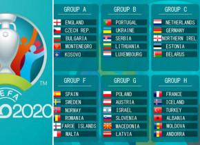 Preliminariile Euro 2020 | ACUM, Franţa-Islanda, Muntenegru-Anglia şi Portugalia-Serbia. Rezultatele și programul
