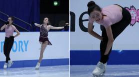 Scene fără precedent: o patinatoare din SUA, acuzată că și-a tăiat intenționat rivala. Imaginile fac înconjurul lumii