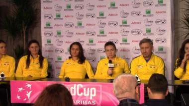 """""""Nu aș vrea să intru în detalii!"""". Simona Halep a evitat să răspundă la o întrebare legată de meciul de Fed Cup"""