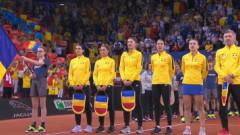 Atmosferă superbă creată de fanii români în Franţa. Momentul imnului, emoţionant