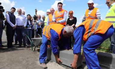 Imaginea Zilei: Cum arată astăzi șantierul inaugurat ieri de Dragnea
