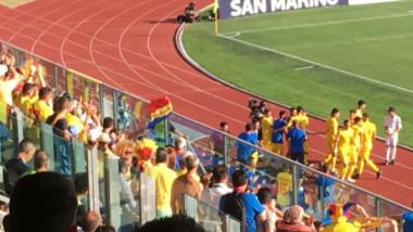 Imagine pentru istorie! Cum a fost surprins Gică Hagi, în tribune, după golul lui Ianis! FOTO
