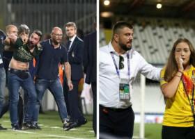 Românul escortat în afara stadionului rupe tăcerea. Ce spune despre incidentul șocant care a făcut înconjurul lumii