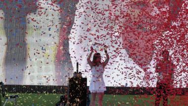 Unde a fost surprins Toni Iuruc, noul iubit al Simonei Halep, în timpul ceremoniei de pe Arena Națională. FOTO