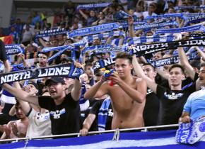 """Fanii Craiovei au făcut show lângă """"Oblemenco"""" înaintea meciului cu FCSB"""