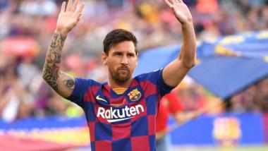 """""""Bad boy"""" Messi! Așa a apărut la antrenamentul Barcelonei. Cum arată argentinanul cu noul look. FOTO"""