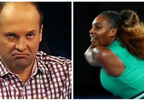"""Presa străină reacționează după """"derapajul"""" lui Radu Banciu. Ce a putut să spună despre Serena Williams și decizia luată de CNCD"""