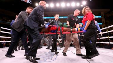 După patru zile de comă, corpul boxerului Patrick Day a cedat