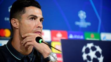 """""""Uluitor!"""" Momentul în care Cristiano Ronaldo s-a ridicat și a plecat din conferință"""
