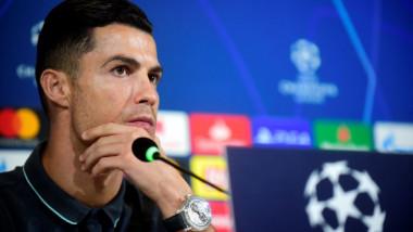 """""""Incredibil!"""" Momentul în care Cristiano Ronaldo s-a ridicat și a plecat din conferință"""