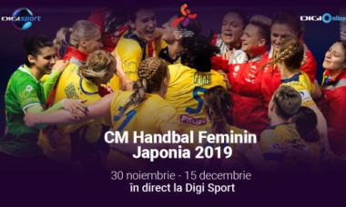 Campionatul Mondial de Handbal Feminin 2019, în direct pe canalele Digi Sport și în aplicația Digi Online