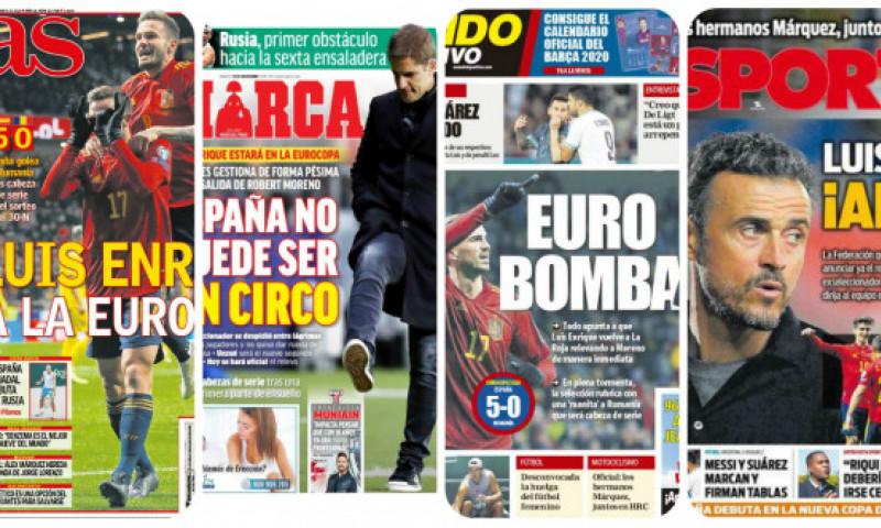 Mundo Deportivo distruge România, după umilința de aseară. Ce scrie presa din Spania despre rușinea trăită de tricolori