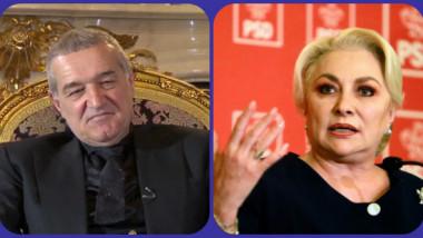 Gigi Becali, derapaj sexist fără precedent la adresa Vioricăi Dăncilă