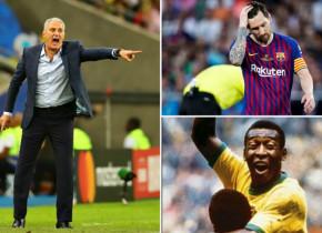 """Tite consideră că Leo Messi nu este nici măcar aproape de Pele: """"Oricine încearcă să îi compare nu poate avea credibilitate"""""""