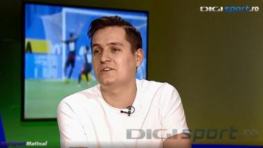 """""""Vrei să plec ca Giovanni din emisiune?"""" Ce a făcut George Tănase ÎN DIRECT la Digi Sport Matinal. VIDEO"""