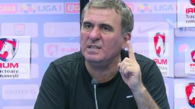 """""""Nu se poate să fie mijlocul hotelului plin de băutură!"""" Gică Hagi a cedat, după meciul cu FCSB"""