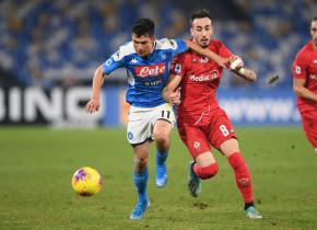 Napoli - Fiorentina 0-2. Dezastru pentru napoletani, care au o singură victorie în ultimele 12 etape