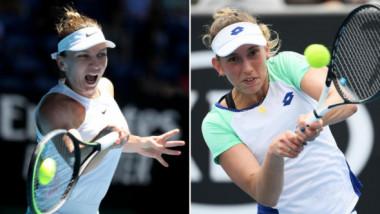 S-a decis ora de start a partidei Simona Halep - Elise Mertens! Miză dublă pentru Simo, în optimile Australian Open