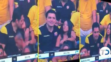 """Caz de infidelitate descoperit pe stadion: """"Prinși în fapt!"""" Au crezut că nu îi vede nimeni, dar camerele erau pe ei. VIDEO"""