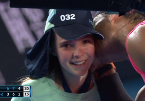 """Nadal, gestul zilei la Australian Open după ce a lovit în plin un copil. Publicul """"s-a topit"""""""