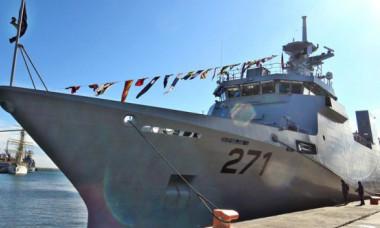 VIDEO Nava construită în România pentru o mare putere nucleară