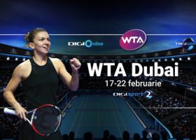 Simona Halep vs Elena Rybakina - când se joacă finala WTA Dubai. Vezi meciul în exclusivitate, pe Digi Sport 2 și în aplicația Digi Online