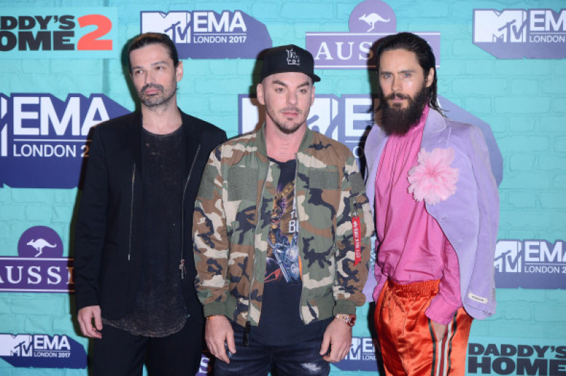 Celebrities attend to MTV EMA 2017 in London