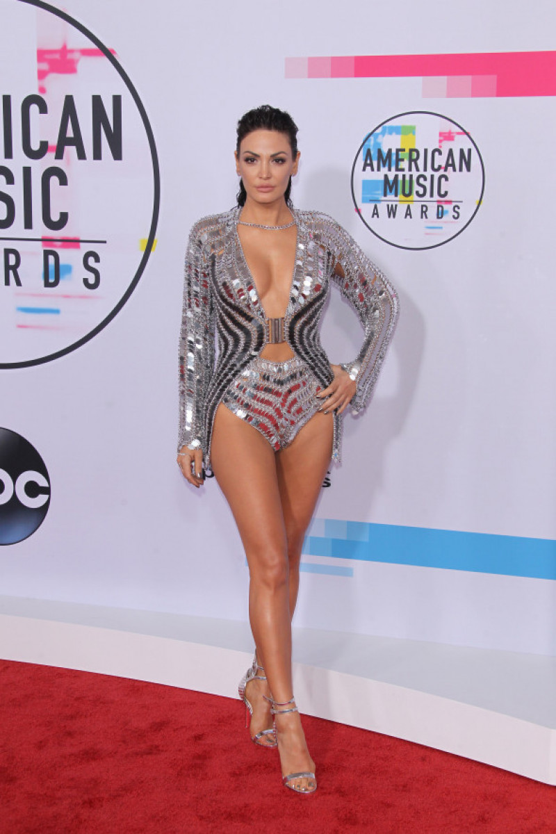 Arrivals for Annual American Music Awards in Los Angeles, CA