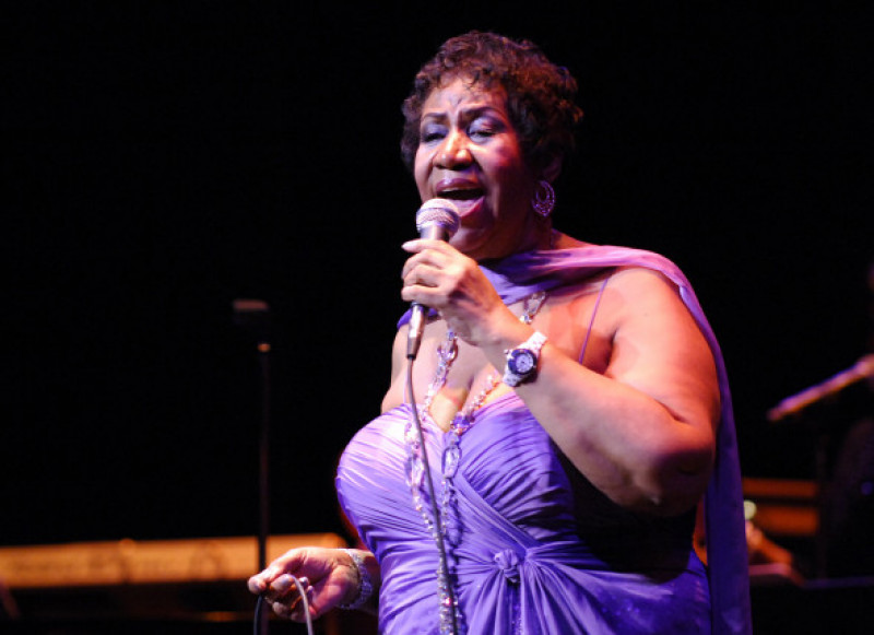 Aretha Franklin A Hit In The Windy City