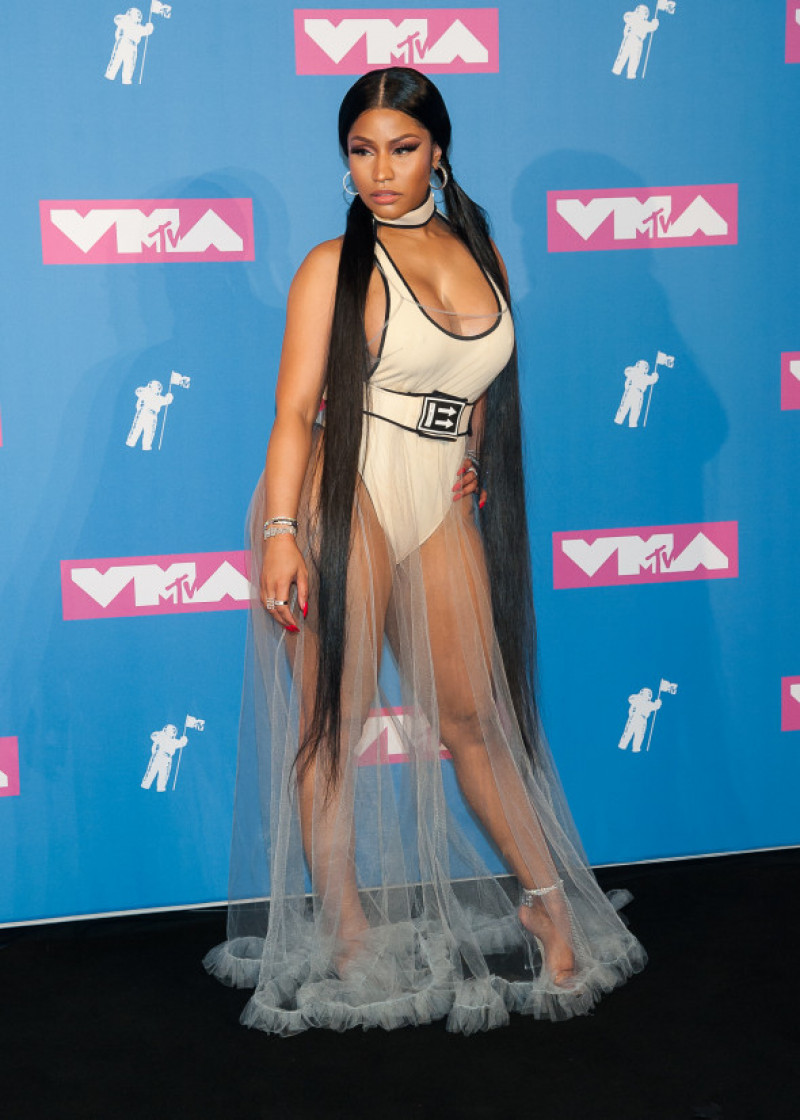 Celebrities Walk The Red Carpet At The 2018 MTV Video Music Awards In New York City
