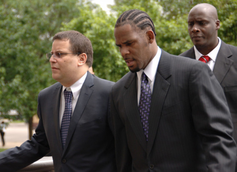 R. Kelly back in the courthouse 1/1