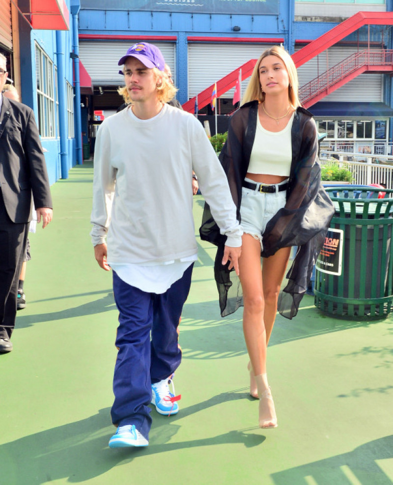 Justin Bieber And Hailey Baldwin Hold Hands As They Head To The John Elliot Fashion Show In New York