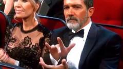 Nicole Kidman are un stil ciudat de a aplauda? Stai să-l vezi pe al lui Banderas | VIDEO