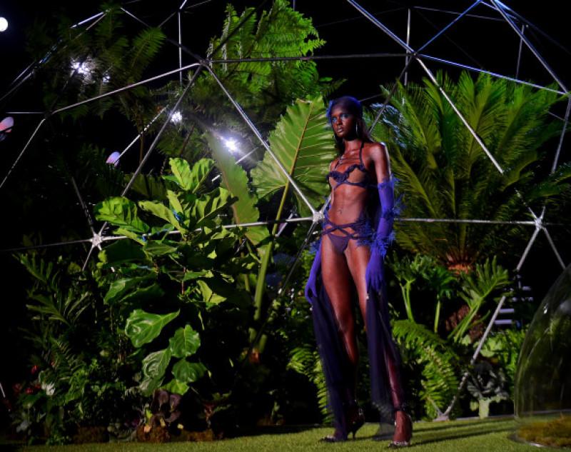Model Duckie Thot Walks in Rihanna's Savage x Fenty Fashion Show